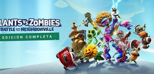 La nueva edición de Plants vs Zombies llega a Switch