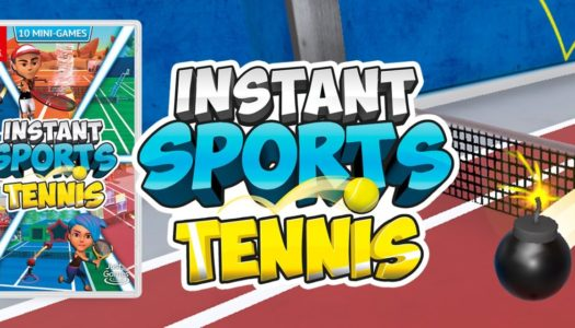 INSTANT SPORTS Tennis llega el 14 de mayo a Nintendo Switch