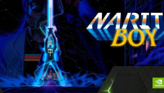 Narita Boy se encuentra entre los nuevos títulos de GeForce NOW