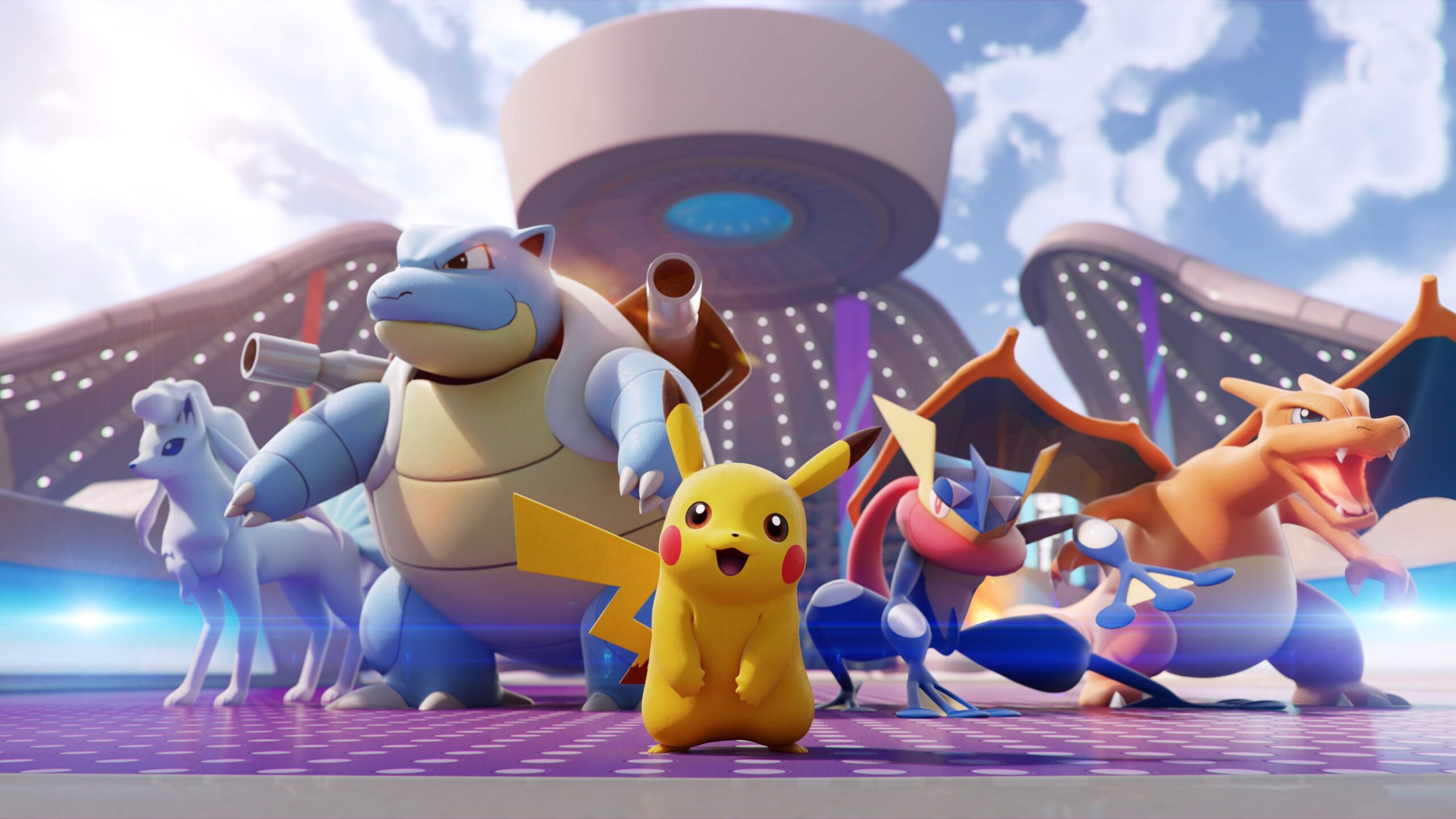 Pokémon Unite-Plantel