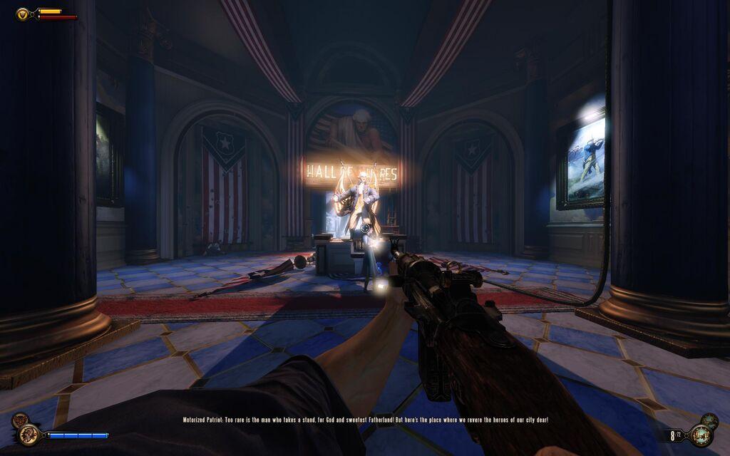 BioShock Infinite GUI