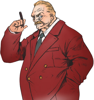 Final Fantasy VII Presidente Shinra