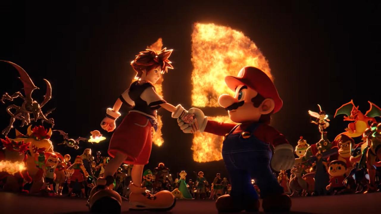 Super Smash Bros. Ultimate Official Sora